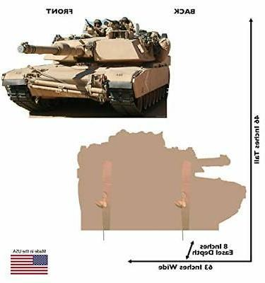 Advanced Graphics Army Tank Life Size Cardboard