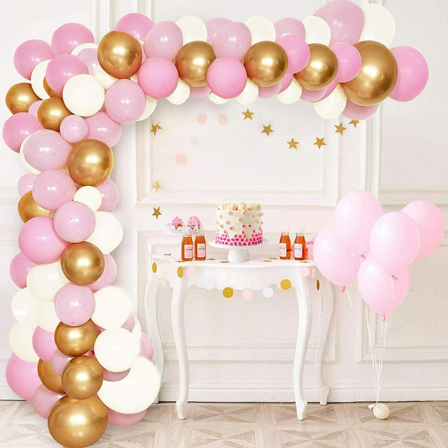 Baby Shower Girl Balloons Decor