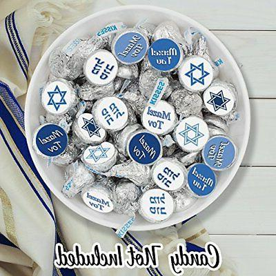 Bar Mitzvah Candy Stickers Set Of PARTY
