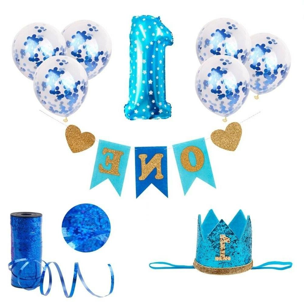 Birthday Party Decorations Kids My Blue Party