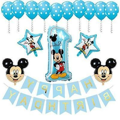 birthday mickey mouse decorations