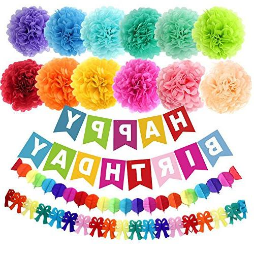 party supplies decorations kit
