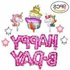 Konsait Birthday Party Decorations9pack, Happy Birthday Ball