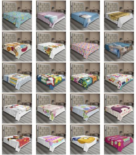 Ambesonne Party Flat Decorative Bedding 6 Sizes