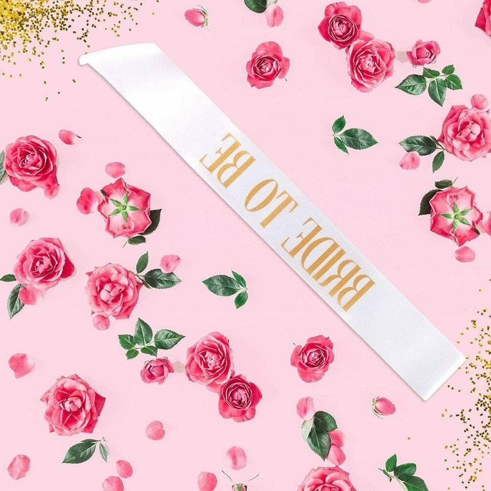 bride to be sash bachelorette party sashes
