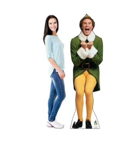 Advanced Graphics The Elf Excited Size Cardboard