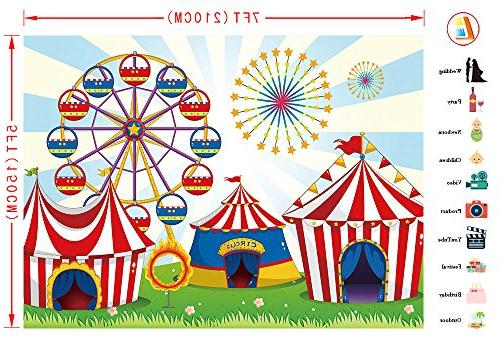 LB Circus Party for Baby Kids Birthday Decoration Photo Photo Studio Prop MB229