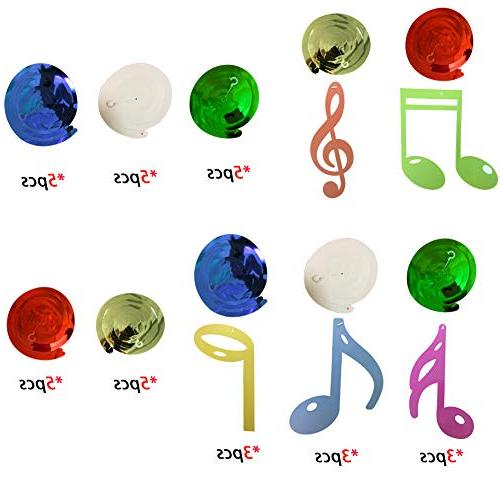 30Ct Hanging Music Party Supplies