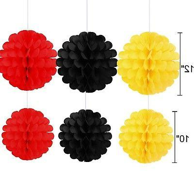Threemart Colorful Yellow Black Red Mickey Mouse New