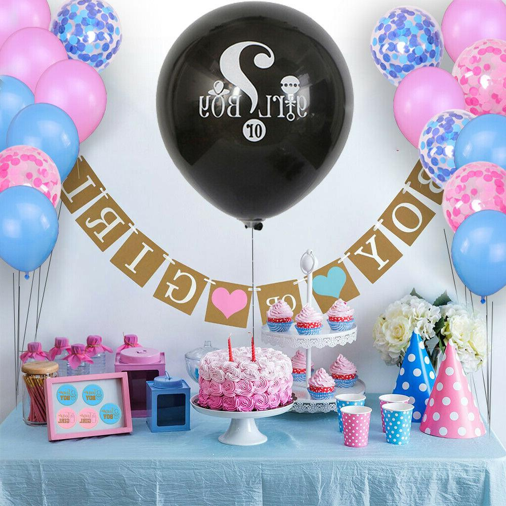 complete gender reveal party supplies kit 109