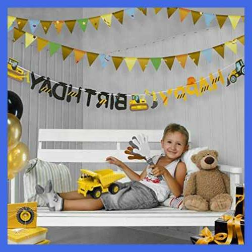 Construction Birthday Party Boy Toddler Kids