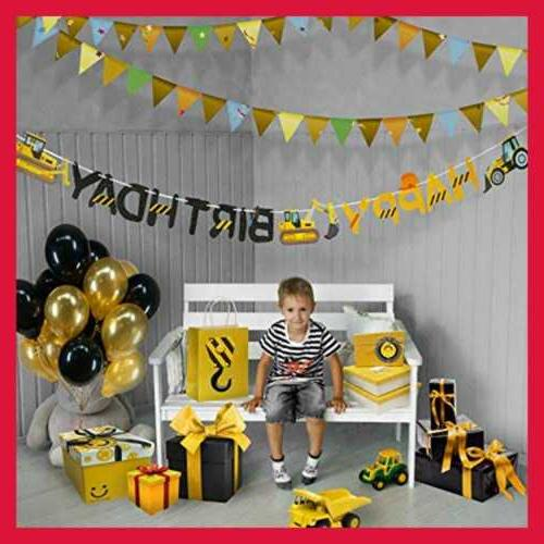 Construction Banner By Aliza Baby Boy Kids