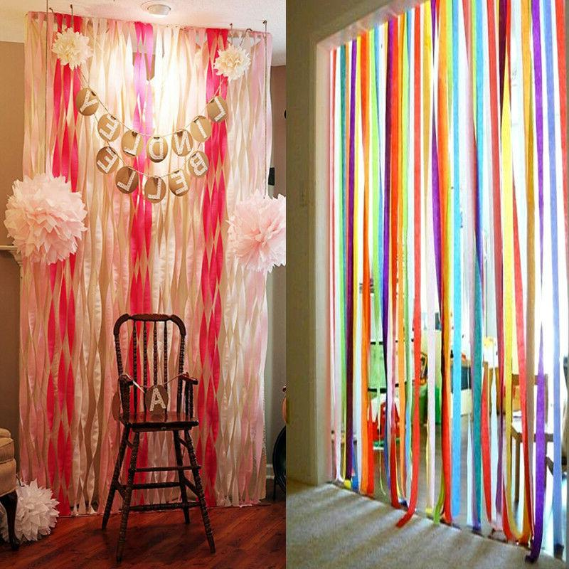 crepe paper streamer wedding birthday party supplies