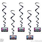 Decade Party Decoration Awesome 80s CASSETTE TAPE Hanging WH
