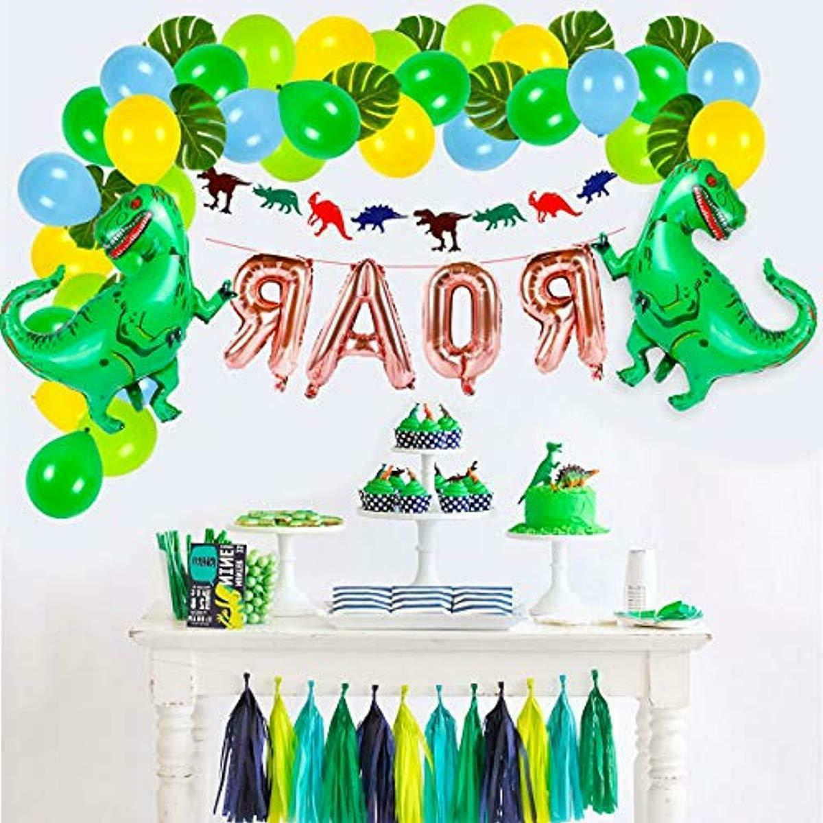 Dinosaur Birthday Set For
