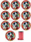 "Disney Mickey Mouse Birthday Party Theme Decoration 18""10x F"