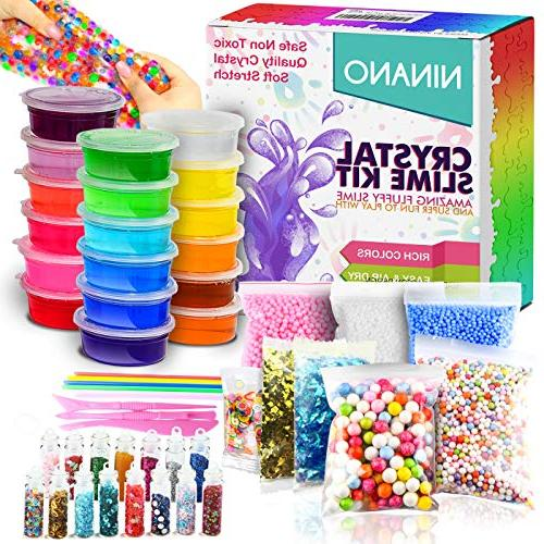 diy fluffy slime kit