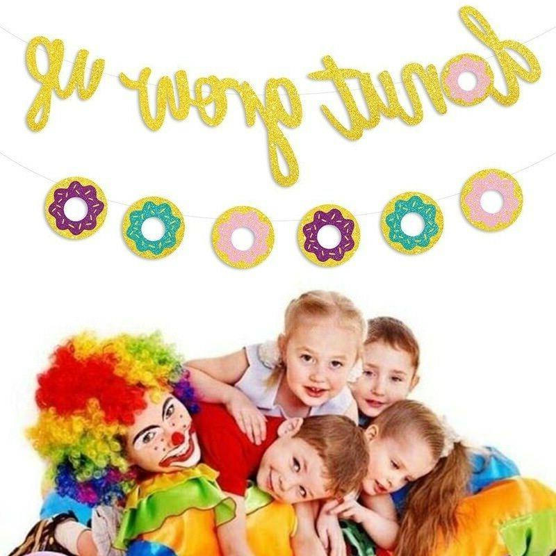 donut grow up kids birthday party decorations