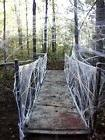 fake spider web halloween party decorations props