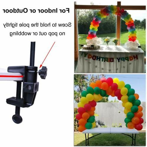 Fiber Table Balloon Arch Stand Kit Party