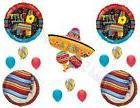 FIESTA Pinata Sombrero Birthday Party Balloons Decoration Su