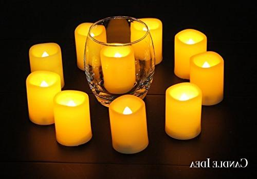 Flameless Flickering Operated Set Of Fake Candles/Flickering Garden wedding,Party,Festival
