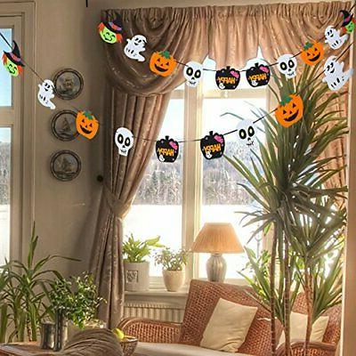 Halloween Foam Banner Garlands for Party Decorations Holiday