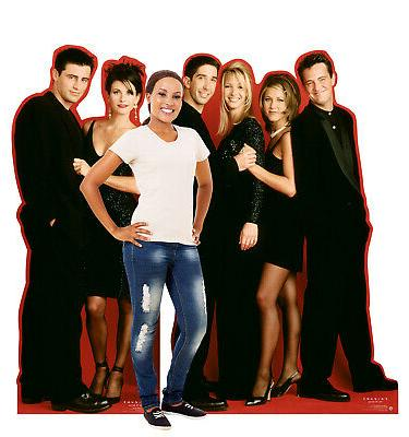 Friends Party Decor Standee
