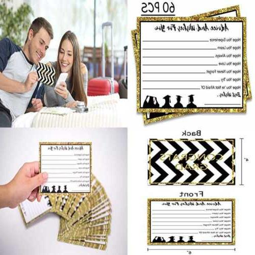 Graduation Party Advice Wishes Cards Supplies 2019 Decoratio