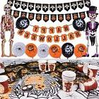 Halloween Decorations Party Pack Kit 88 PC Balloons Tablewar