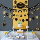 TINKSKY Happy Graduation Banner Garland Bunting Banner Party