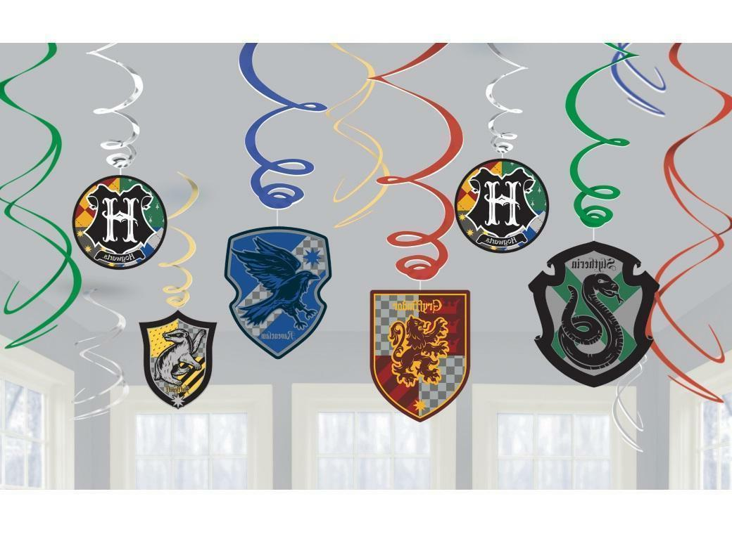 Harry Potter Hanging Swirl Decorations Kids Birthday Party S