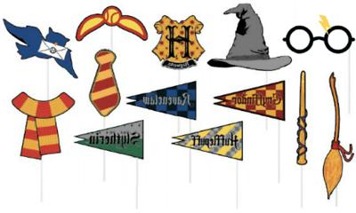 Harry Potter + 13 Props Birthday Party Decoration