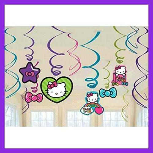 Hello Kitty Decorations Birthday Party Hanging