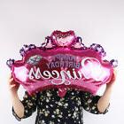 hot pink crown princess birthday party decoration