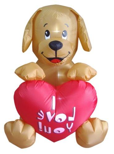 inflatable puppy