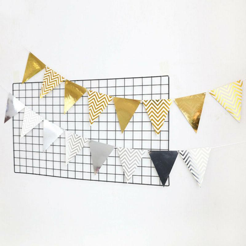 Kids Party Bunting Wavy Banner