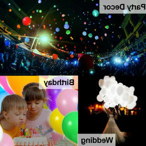 LED Balloons 50 Light Decoration Birthday US