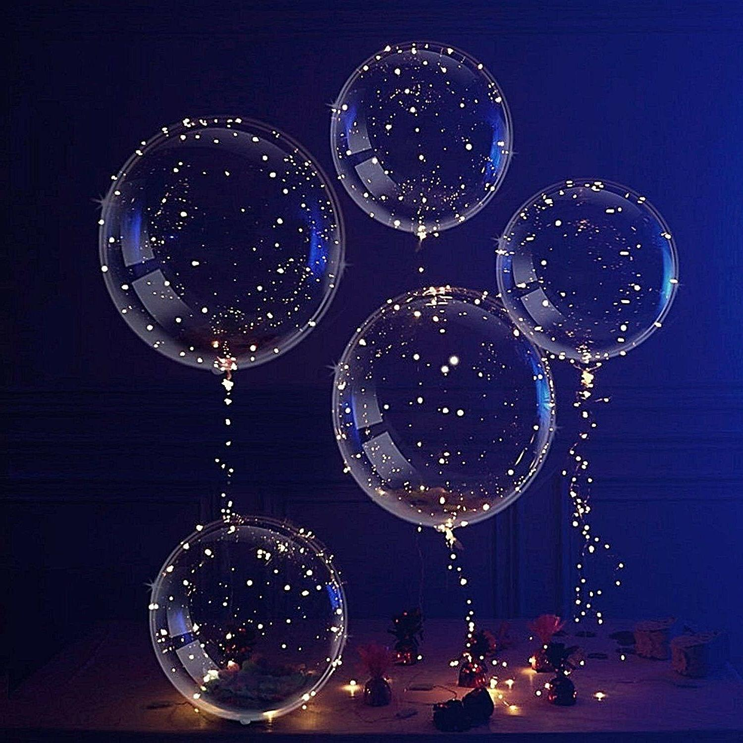 LED Light Party Balloon Birthday Wedding
