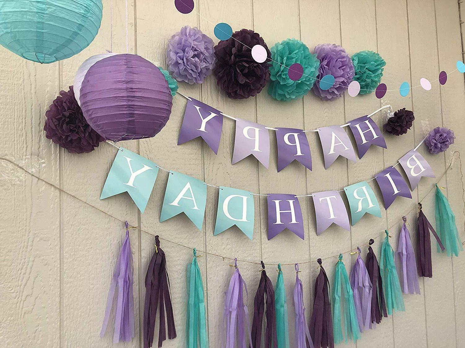 Little Mermaid Sea Party Supplies Banner Kids Party