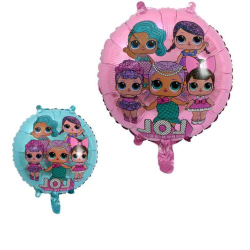 LOL Surprise Party Kids Girls Supplies Tableware Decor Plates Balloons