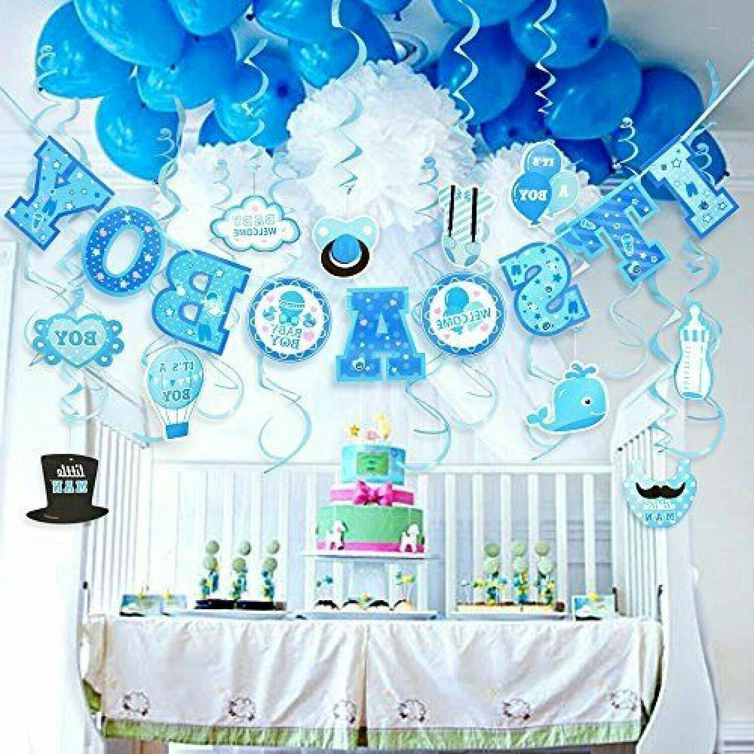lucky party baby shower decorations for boy