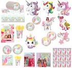magical unicorn fairytale birthday party tableware decoratio