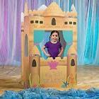 MERMAID PRINCESS 3D CASTLE * under the sea birthday party de