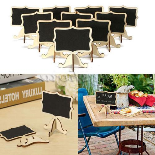 Mini Chalkboard Message Table Wedding Party