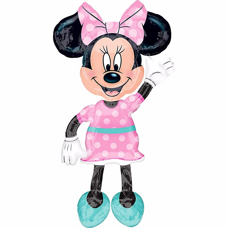 """New Minnie Mouse Airwalker Foil Balloon 54"""" ~ Birthday Party"""