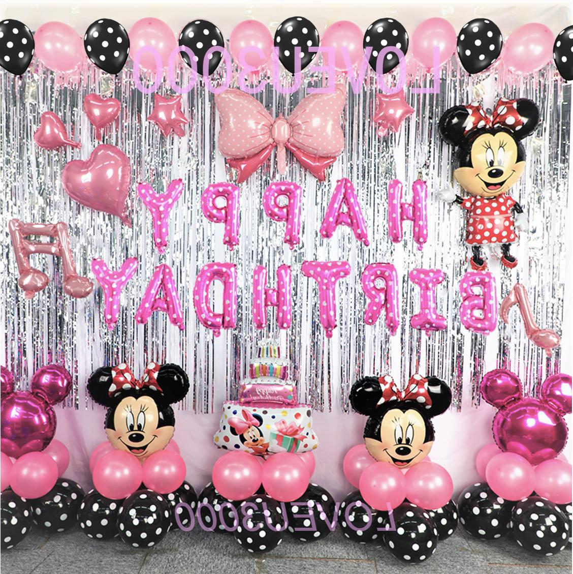 minnie mouse birthday party decorations minnie mouse