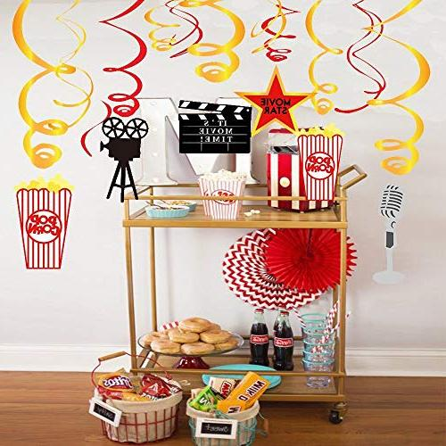 Stechop Supplies, Swirl Birthday Ceiling Streamers - Theme Party