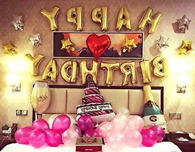New Birthday Inflating Bunting Home Decor US