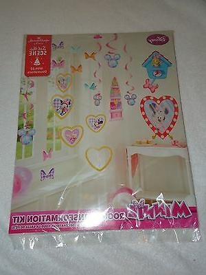 new party disney minnie room transformation kit